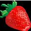 иконка клубника, ягоды, еда, erdbeere,