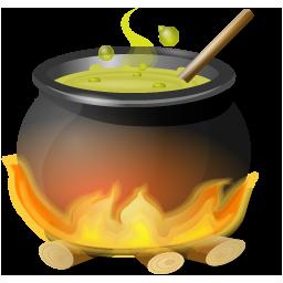 иконки котел, очаг, огонь, хэллоуин, kettle,