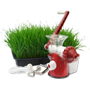 иконка соковыжималка, трава, мясорубка,