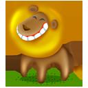 иконка лев, животное, животные, animal, lion,