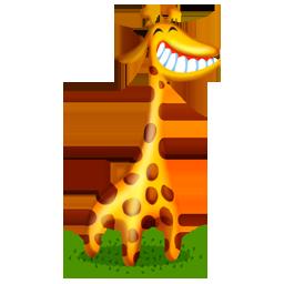 иконка жираф, животное, животные, animal, giraffe,