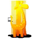иконки жираф, animal, животное, животные, giraffe,