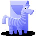 иконки зебра, animal, животное, животные, zebra,