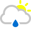 иконки  погода, cloud raindrop sun,