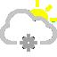 иконки  погода, снег, солнце, cloud snowflake sun,