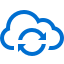 иконка синхронизация, облако, cloud sync,
