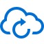 иконки перезагрузка, облако, cloud reload,