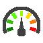 иконка спидометр, давление, pressure reading,