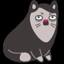 иконки кот, кошка, животное, cat, moustache,