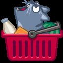 иконки кот, кошка, покупки, корзина, еда, cat, cart,
