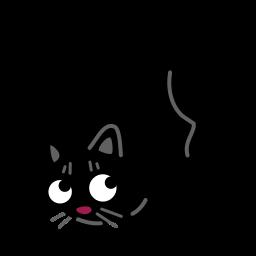 иконка кот, кошка, cat, acrobat,