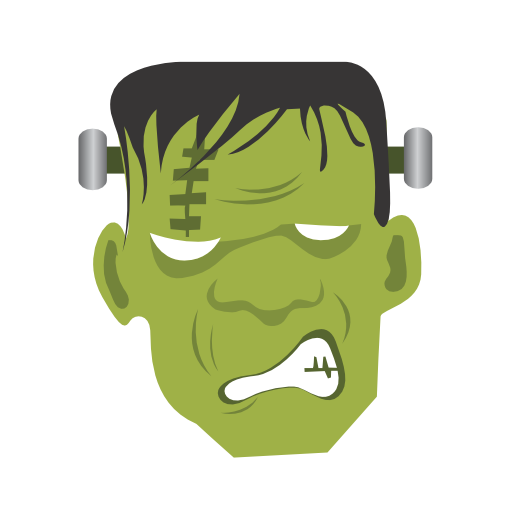 иконка франкенштейн, монстр, хэллоуин, frankenstein, monster, halloween,