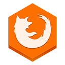 иконки  firefox, браузер,
