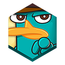 иконка wheres my perry, game, игра,