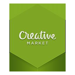 иконка creative market,