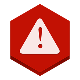 иконки предупреждение, ошибка, warning,