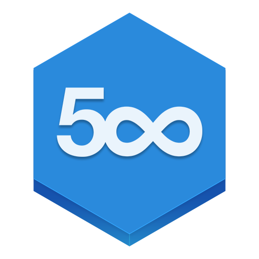 иконка 500px,