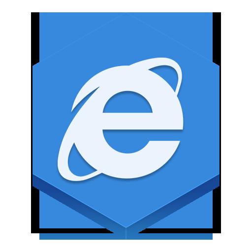 иконка браузер, internet explorer,