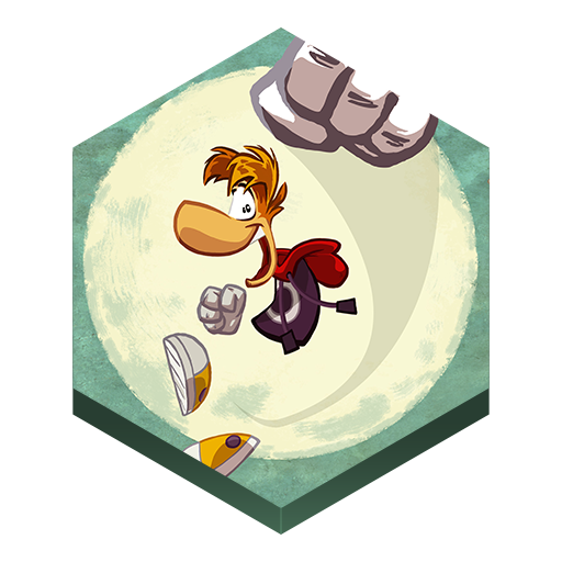 иконки rayman jungle run, game, игра,