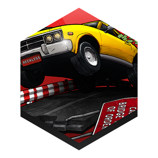 иконка reckless getaway, game, игра,