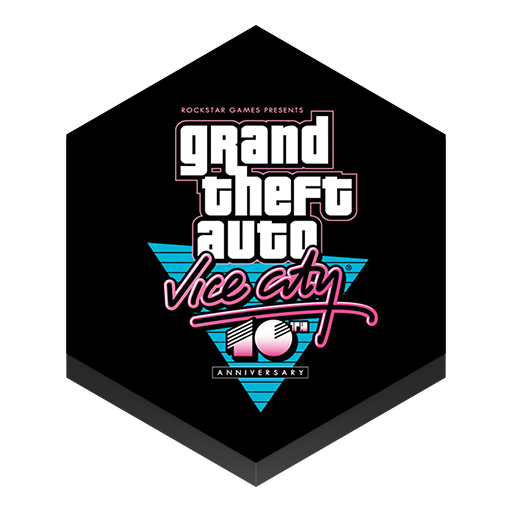 иконка gta, gta vice city, game, игра,