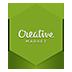 иконки creative market,