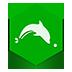 иконка dolphin,