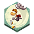 иконка rayman jungle run, game, игра,