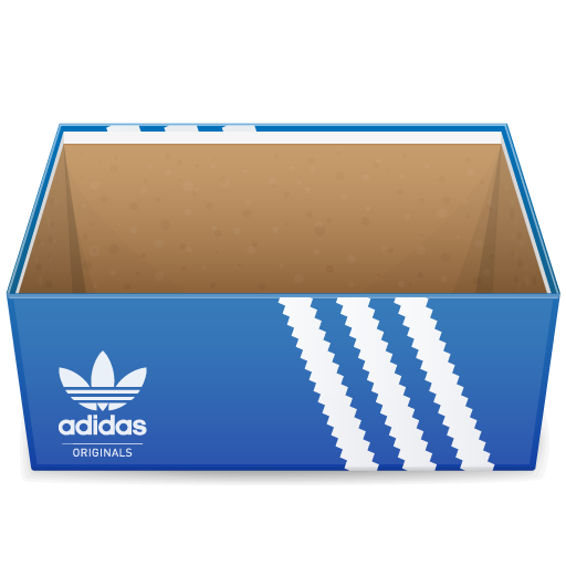 иконки коробка, обувная коробка, adidas, shoebox,