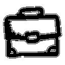 иконки портфель, бизнес, briefcase,