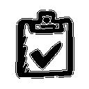 иконки список, план, checklist,