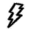 иконки молния, lightning,