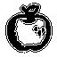 иконки яблоко, фрукт, еда, apple,