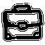 иконка портфель, бизнес, briefcase,
