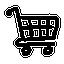иконки тележка, покупки, cart,