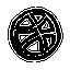 иконка dribbble,