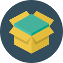 иконки  коробка, ящик, доставка, open box,