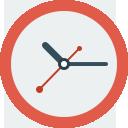 иконка часы, время, clock,