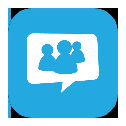 иконки live messenger, общение, чат,