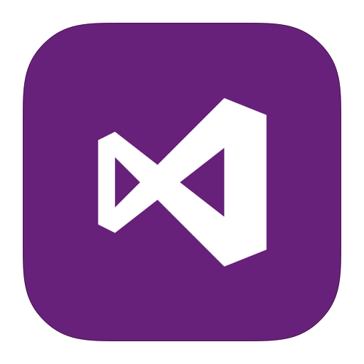 иконка visualstudio, visual studio,