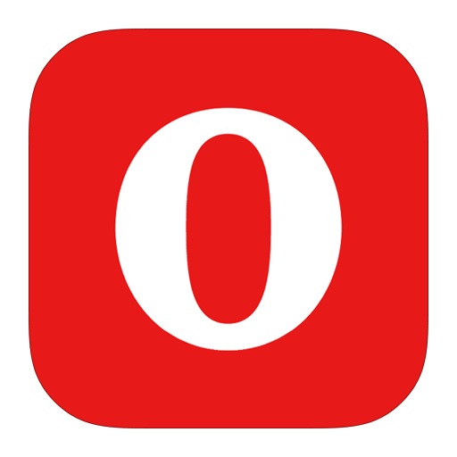 иконки opera, опера, браузер,
