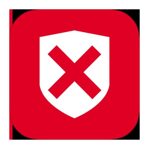 иконки антивирус, защита, крестик, предупреждение, опасность, security denied,