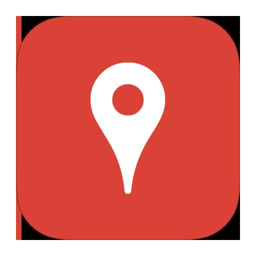 иконки google places, карта, карты, местоположение, маркер, metroui,