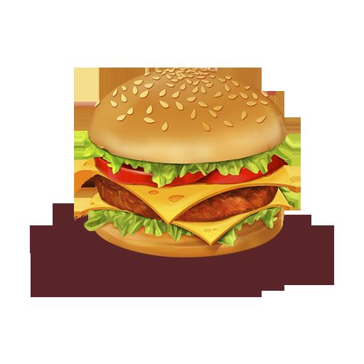 иконка еда, гамбургер, hamburger, food,