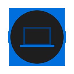 иконки  компьютер, ноутбук, computer,