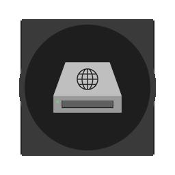 иконки сервер, хостинг, drive network,
