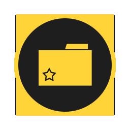 иконка избранное, папка, favorites, folder,