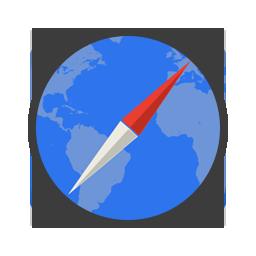 иконка safari, сафари, браузер,