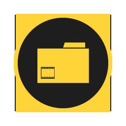 иконки видео, папка, мои видеозаписи, videos, folder,