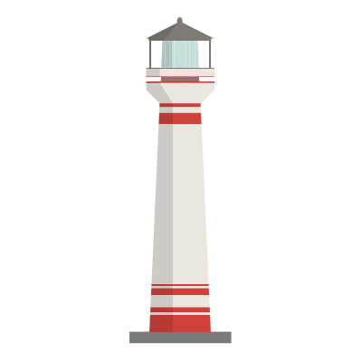 иконка маяк,